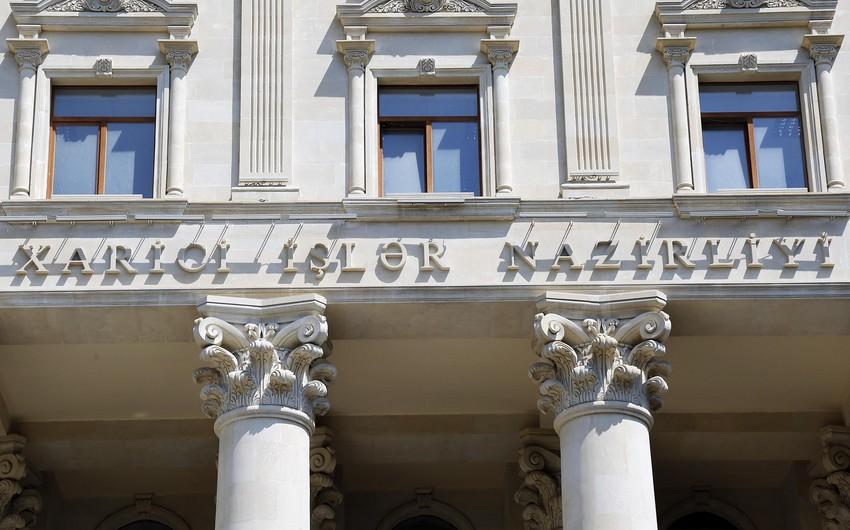 Azərbaycan XİN: Ermənistan xüsusi narahatlıq və təşviş içərisindədir