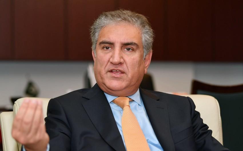 Pakistanın XİN başçısı Ermənistanı qoşunlarını Azərbaycanın işğal olunmuş ərazilərindən çıxarmağa çağırıb