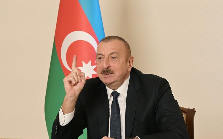 Azərbaycan lideri: Kimsə əyri yolla getsə, biz ondan gec-tez xəbər tutacağıq