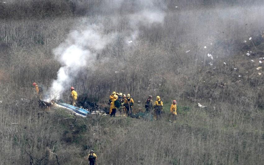 Kaliforniyada helikopter qəzaya uğradı