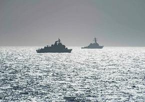 Rusiyanın Xəzər donanmasının gəmiləri Qara dənizə daxil olub