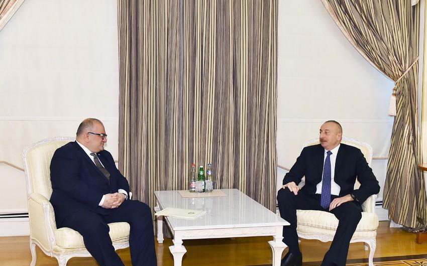 Azərbaycan Prezidenti Gürcüstanın Baş nazirinin müavinini qəbul edib - ƏLAVƏ OLUNUB