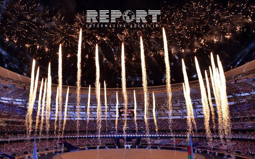 Birinci Avropa Oyunlarının açılış mərasimi keçirilib - VİDEO