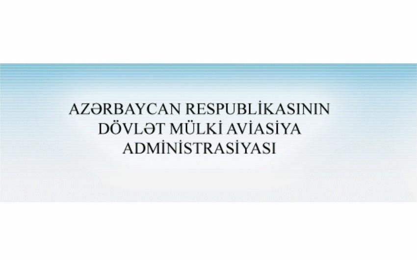 Dövlət Mülki Aviasiya Administrasiyası bir həftə fəaliyyət göstərməyəcək