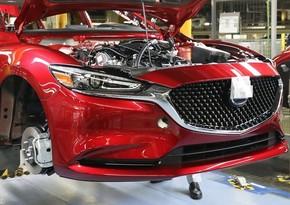 """""""Mazda"""" yarımkeçirici çip tədarükündəki problemlə bağlı istehsalı azaldacaq"""