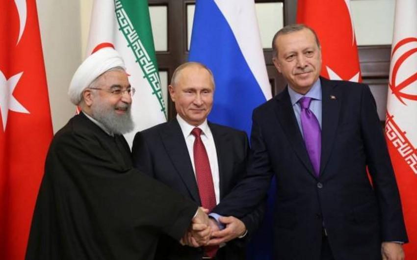 Türkiyə, Rusiya və İran prezidentləri Ankarada görüşəcək