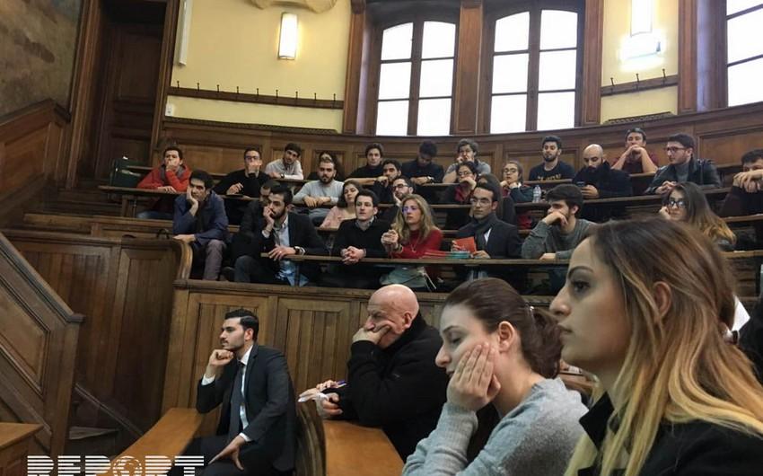 Fransadakı erməni diasporunun Parisdə keçirdiyi tədbir fiaskoya uğrayıb - FOTO