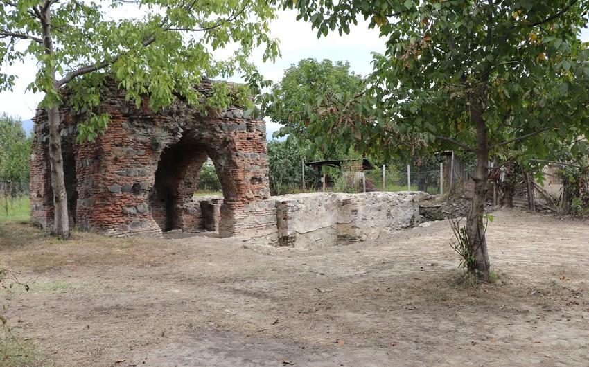 Исследованы два строения в албанском христианском памятнике