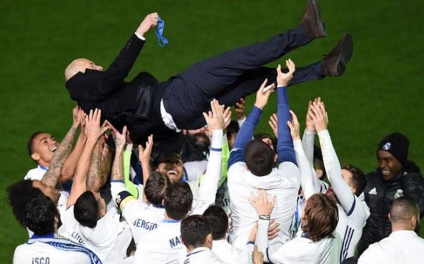 Клуб Реал Мадрид установил новый рекорд
