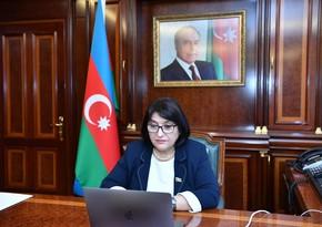 Sahiba Gafarova meet with OIC Ombudsman Association delegation