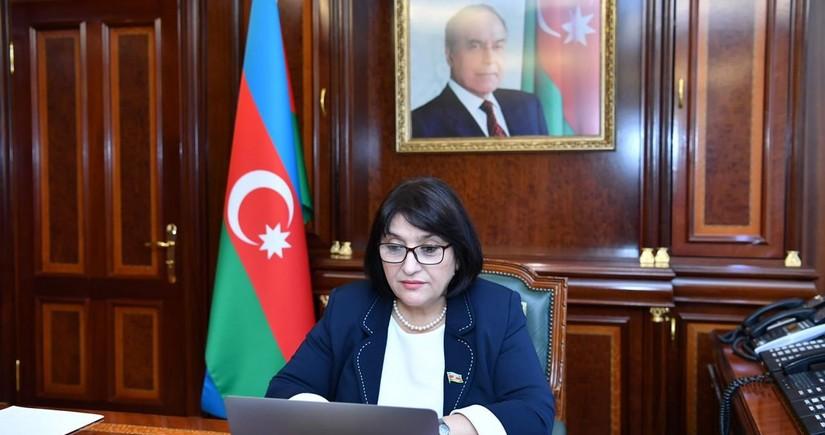 Sahibə Qafarova İƏT Ombudsmanlar Assosiasiyasının nümayəndə heyətiilə görüşüb