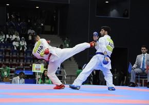 Open Azerbaijan beynəlxalq karate turnirinin qalibləri müəyyənləşdi