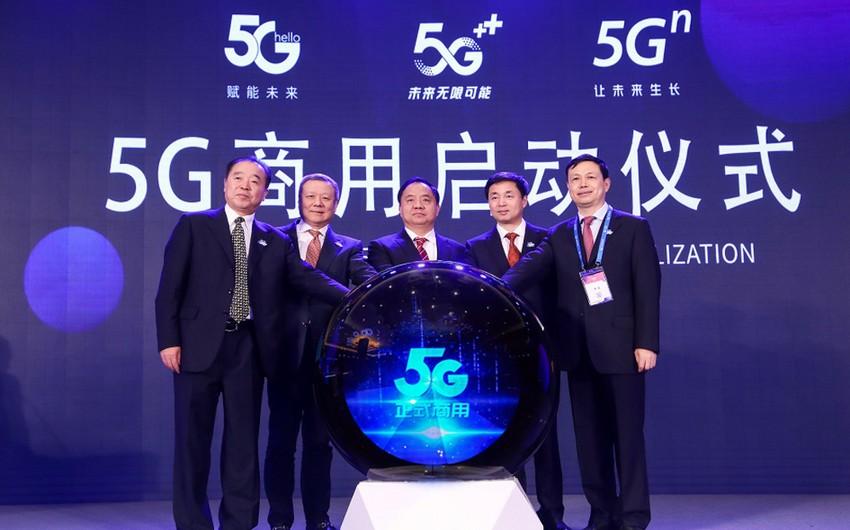 Çində dünyanın ən böyük 5G şəbəkəsi yaradılır