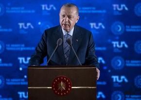 Ərdoğan: Türkiyə 2023-cü ildə Aya kosmik raket göndərəcək