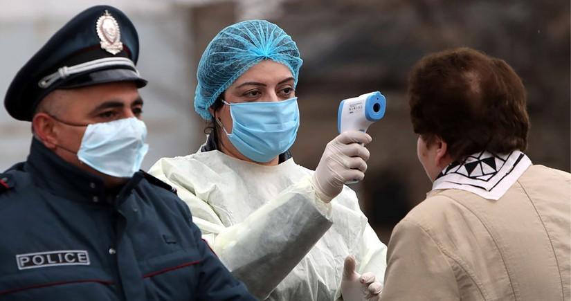 Ermənistanda 580 nəfər koronavirusa yoluxub, 8 nəfər ölüb