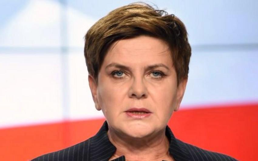Polşanın baş naziri Beata Şidlo istefa verib