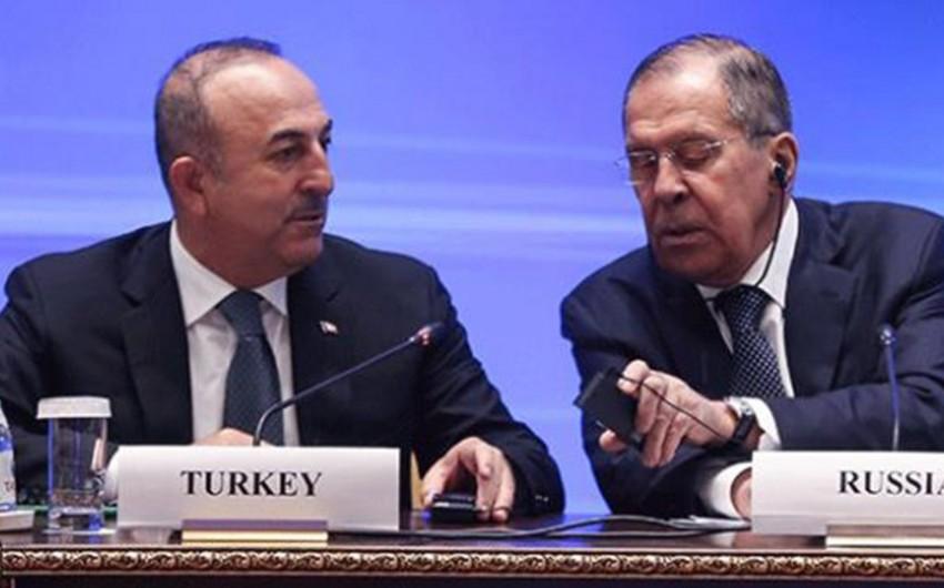 Türkiyə-Rusiya danışıqları keçirilib