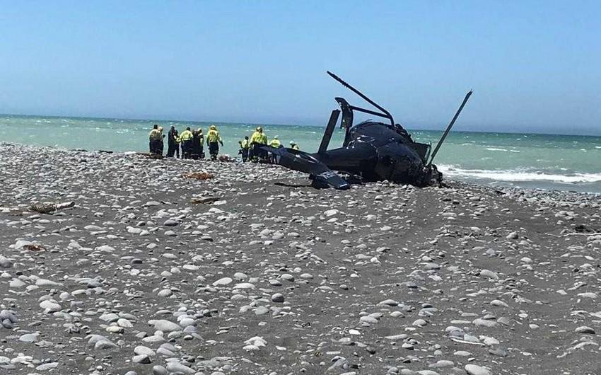Two dead, three injured in New Zealand chopper crash