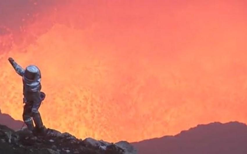 Qvatemalada vulkana qalxan 6 turist donaraq ölüb