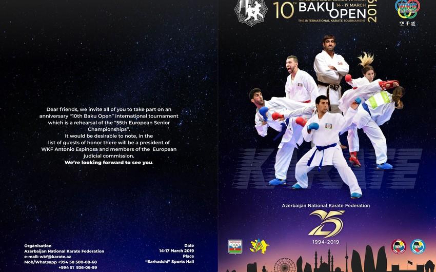 Baku Open karate turnirinin vaxtı açıqlanıb