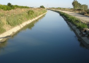 Cənub-Muğan kanalında suyun səviyyəsi artıb