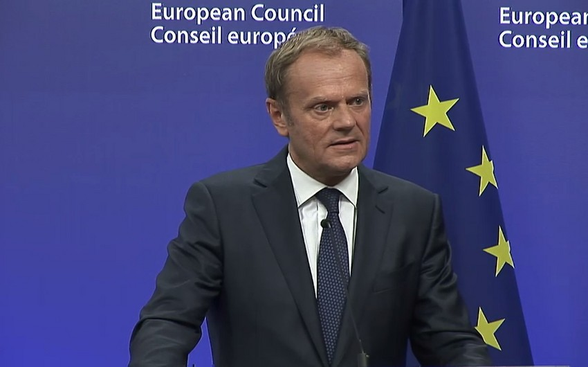 Donald Tusk: Avropa İttifaqını qoruyub saxlamaq və daha da gücləndirmək niyyətindəyik