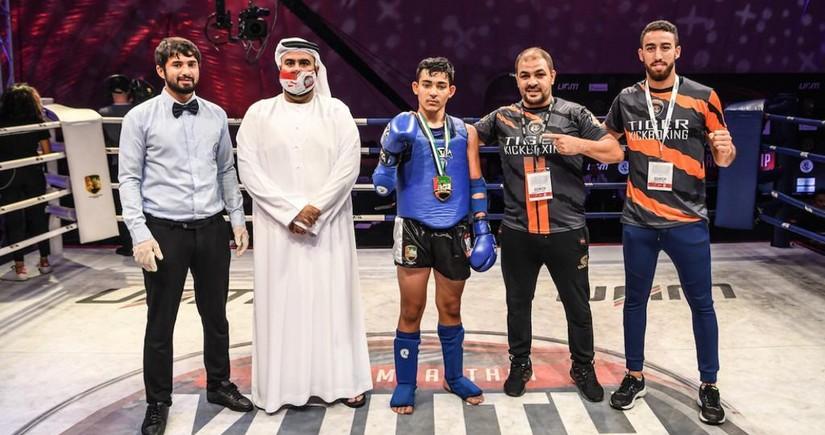 Azerbaijani athlete claims gold medal in Dubai