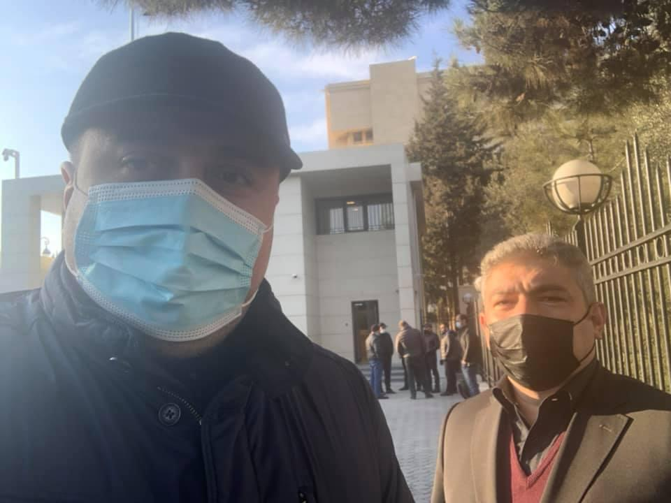 وکلا - الچین سادیگوف و باختیار حاجیف