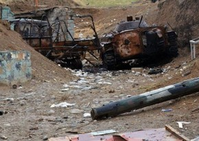 Several other enemy vehicles destroyed and wrecked
