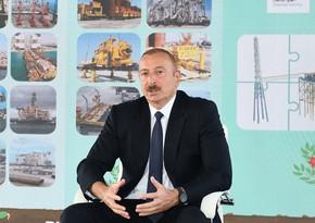 Ильхам Алиев высоко оценил работу SOCAR