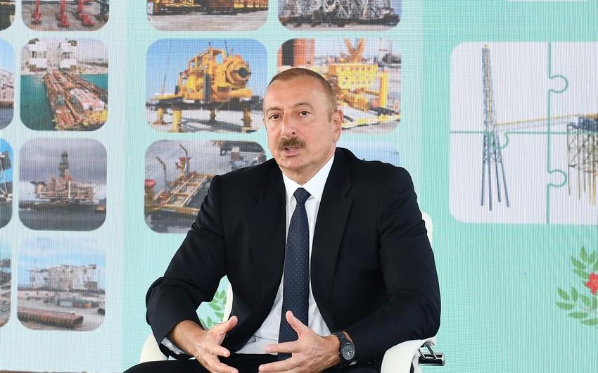 Ilham Aliyev praises SOCAR's work