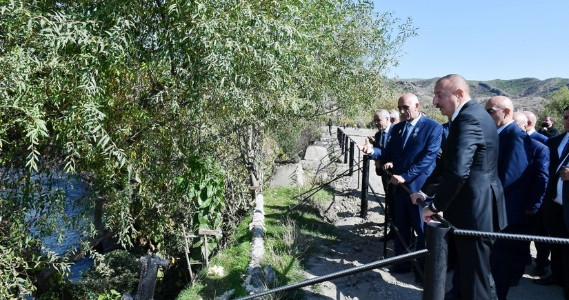 Ilham Aliyev in Gubadli: There should only be good living in such picturesque lands