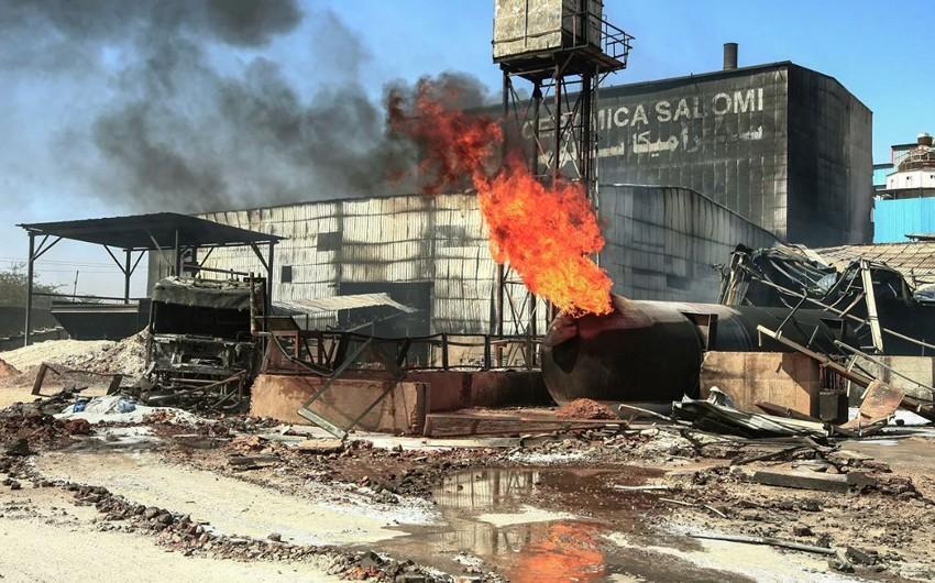 Sudanda fabrikdə yanğın zamanı 26 nəfər həlak olub