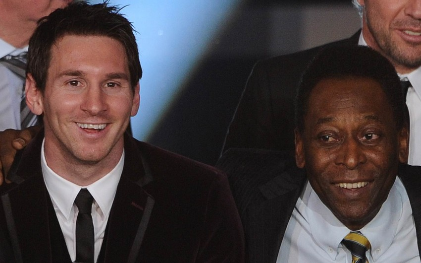 Santos klubundan etiraz: Messi Pelenin rekordunu keçməyib