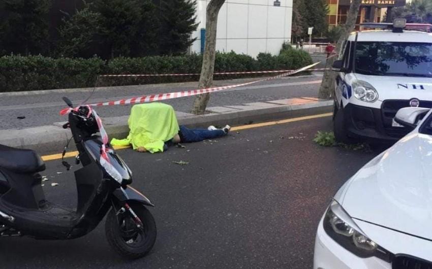 Bakıda Wolt şirkətinin əməkdaşı yol qəzasında öldü