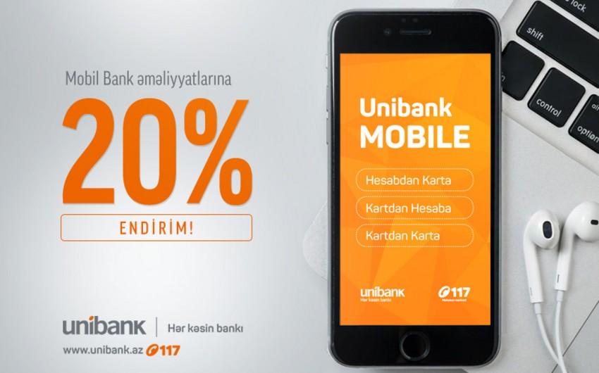 Unibank ASC Mobil Bank istifadəçiləri üçün kampaniya keçirir