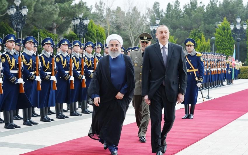 Prezident: Xəzər dənizində İranla əməkdaşlıq daha da yüksək pilləyə qalxacaq