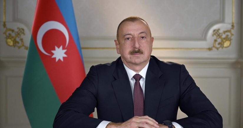 İlham Əliyev: Azərbaycan ayrılmaz hissəsi olan Naxçıvanla birləşir. Azərbaycan Türkiyə ilə birləşir