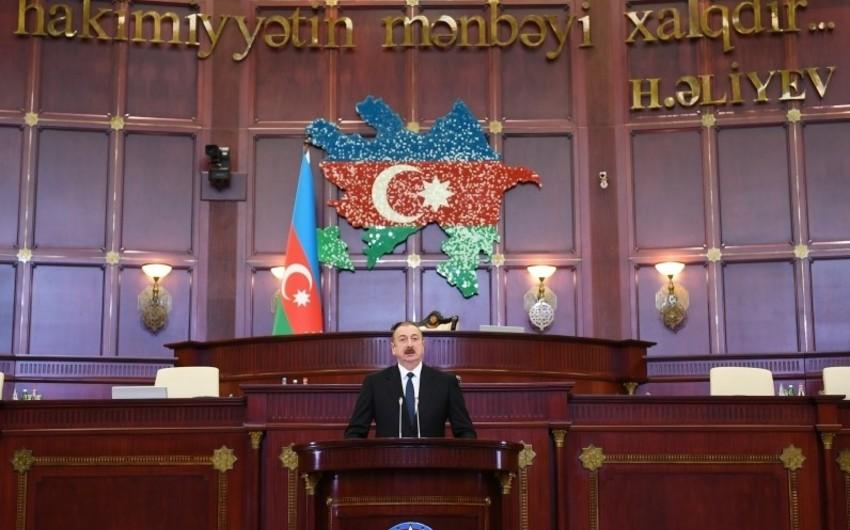 İlham Əliyev: Azərbaycan sosial dövlətdir və bizim atdığımız bütün addımlar bunu təsdiqləyir
