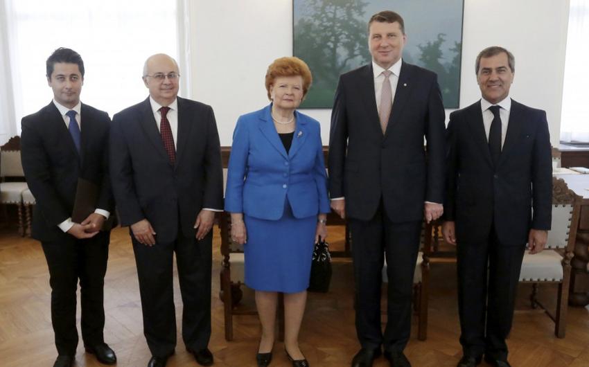 Latviya prezidenti V Qlobal Bakı Forumunda iştirak etmək üçün dəvət alıb