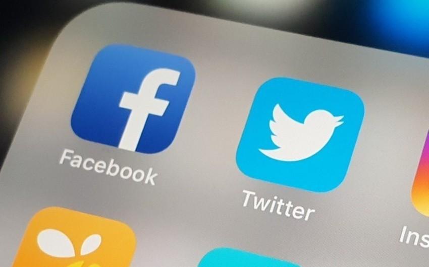 """""""Facebook"""" və """"Twitter"""" Rusiya ilə əlaqəli 300-ə yaxın hesabı bağladı"""