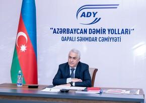 """""""Azərbaycan Dəmir Yolları""""nda növbəti Kollegiya iclası keçirilib"""