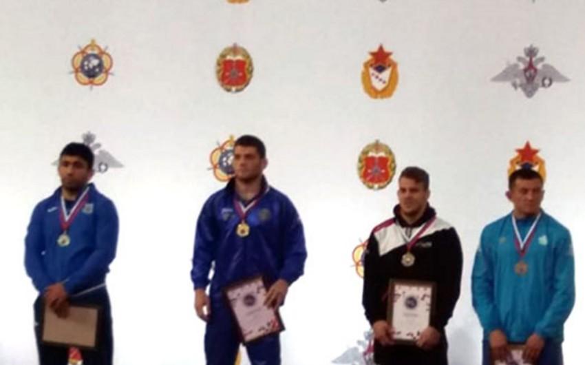 Azərbaycan güləşçiləri hərbçilər arasında dünya çempionatında daha iki medal qazanıblar