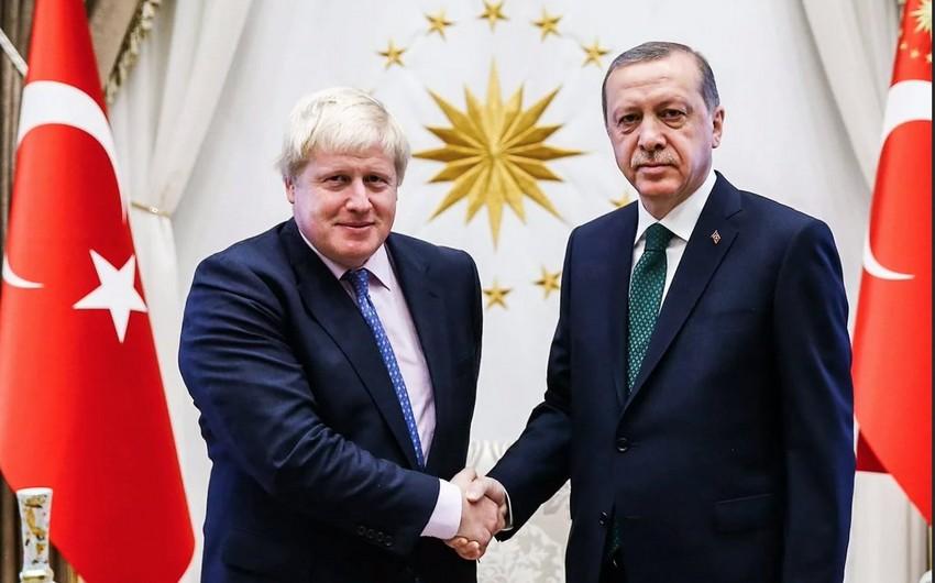 Türkiyə prezidenti və Britaniyanın baş naziri ABŞ-da danışıqlar aparıblar