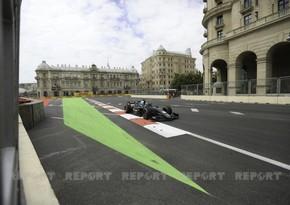 Bakıda Formula 2 yarışına start verildi - VİDEO