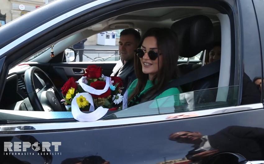 DYP reyd keçirib, 200-dən artıq qadın sürücü saxlanılıb - VİDEO - FOTO