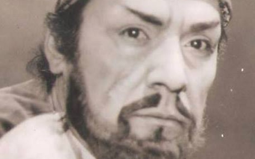 Aktyor Hamlet Xanızadənin 75 illik yubileyi məzarı başında yad edilib