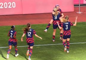 Tokio-2020: Qadınların futbol turnirində bürünc medalçı bəlli olub