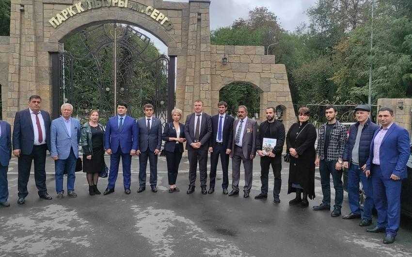 İnquşetiyadakı Azərbaycan diasporunun nümayəndələri mükafatlandırılıb