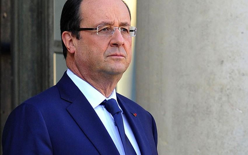 Fransa prezidenti ABŞ-ın yeni prezidenti ilə Ukrayna, Suriya və İraqdakı vəziyyəti müzakirə edəcək
